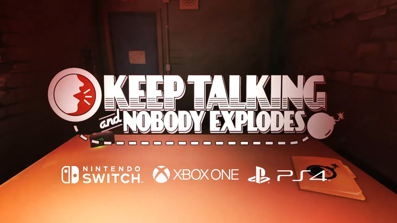 Keep Talking and Nobody Explodes console trailer