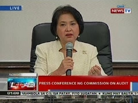 NTL: Presscon ng Commission on Audit