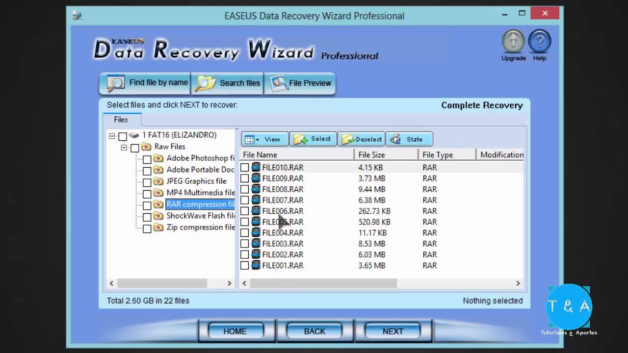 tarjeta de memoria recuperar archivos