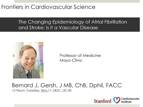 The Changing Epidemiology of Atrial Fibrillation and Stroke: Is it a Vascular Disease