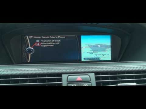 Bluetooth Music Streaming With BMW's iDrive