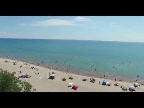4K Long Point Beach Ontario Canada Dji Phantom 3 Profesional