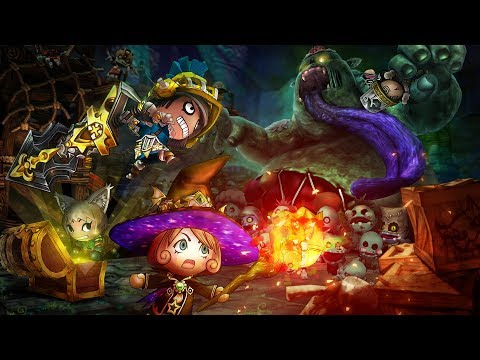 Happy Dungeons for PlayStation®4 Announcement trailer