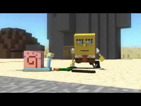 Minecraft Мультики-Губка боб (Спанч боб Майнкрафт анимация)