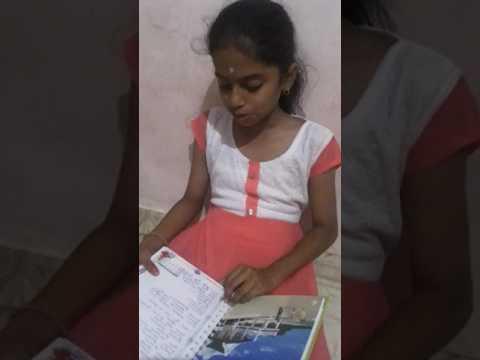 Vaishnavi sung dis song