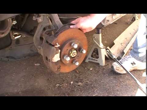 Removing Front Civic Axle Nut