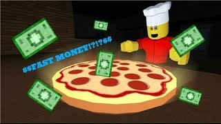 Work at Pizza Place - How to get money fast! [Roblox]