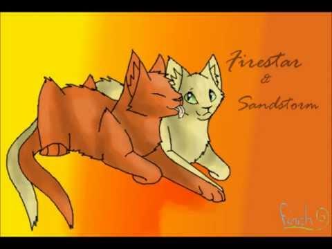 Warrior Cats Tribute: FireStar & SandStorm...