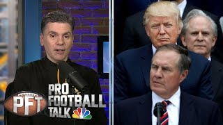 Trump to appoint Bill Belichick to Sports Council I Pro Football Talk I NBC Sports
