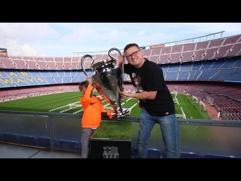 FC Barcelona Stadium Camp Nou - Family Fun Trip