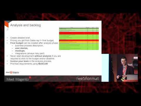 Managing IT project using SCRUM methodology - Divante | Meet Magento IT 2017