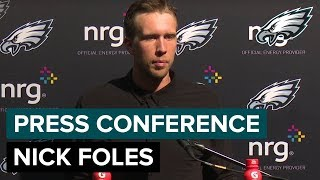 QB Nick Foles Talks First Preseason Action & More | Eagles Press Conference