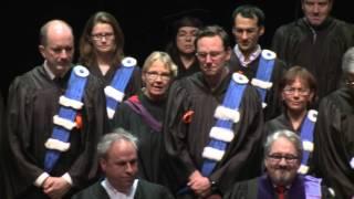 Collation des grades 2015 de la Faculté de science politique et de droit
