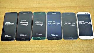 Samsung Galaxy S8 vs S7 vs S6 vs S5 vs S4 vs S3 - Speed Test! (4K)(, 2017-04-07T02:55:54.000Z)