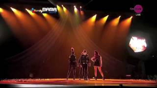 Repeat youtube video 2NE1 내가제일잘나가(I'm The Best) [MAMA 2011 Performance]