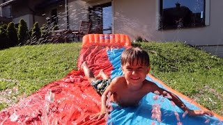 Summer Water Sliding  Fun - Good Family Toy