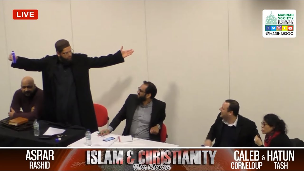 Islam vs Christianity Debate: The Choice | Asrar Rashid vs Christians