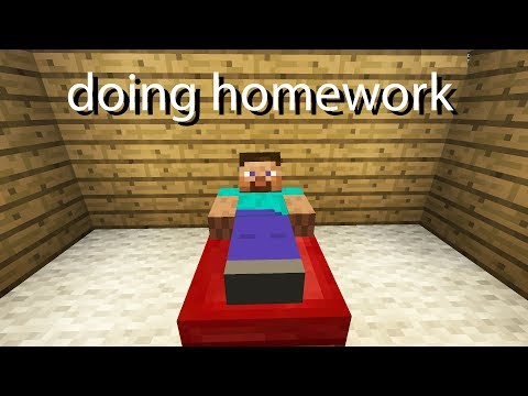 Life Portrayed By Minecraft 2
