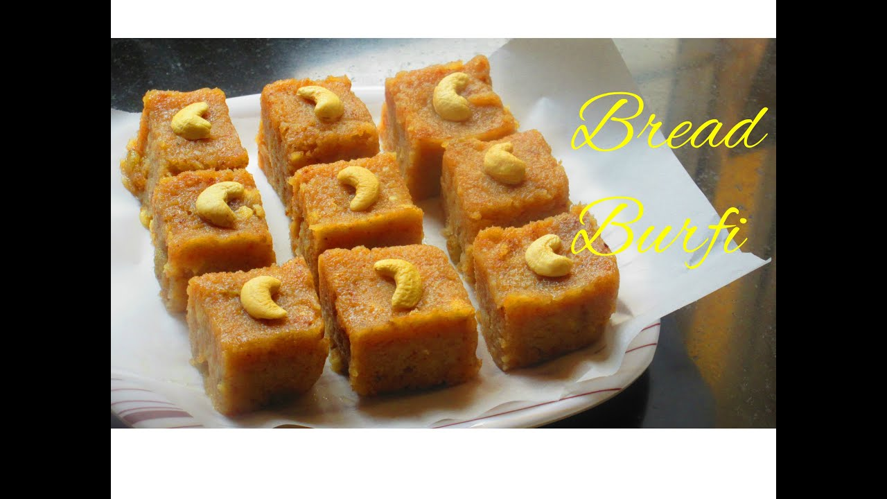 Bread burfi recipe indian sweets recipe bread burfi recipe indian sweets recipe youtube forumfinder Image collections