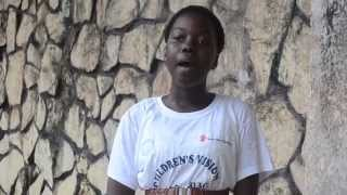 Sierra Leone - Girl speaks about her hopes for 2030