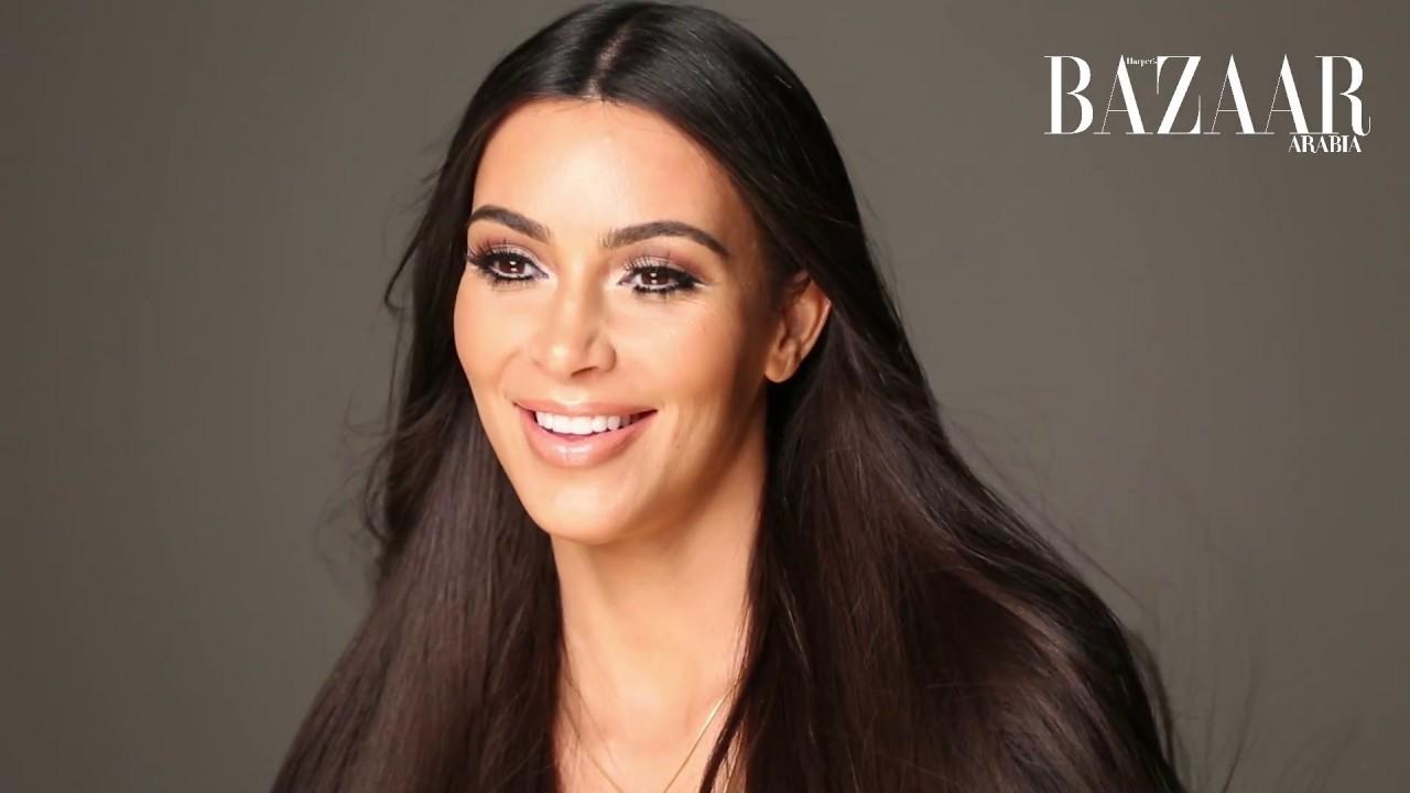 to wear - Kim covers kardashian harpers bazaar arabia video