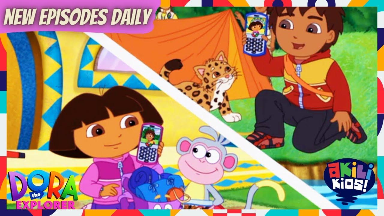 Download Dora The Explorer | Let's Go Camping | Akili Kids!