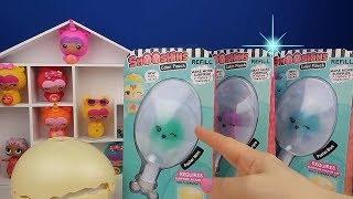 Squishy Makinesi ile Smooshins Kawaii Bebek Yapma Chalenge NEW REFİL, DIY Toy Maker Bidünya Oyuncak
