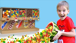 Максим делает фруктовые конфеты