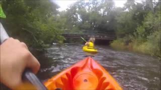 Au fil de l'eau ... kayak sur l'Yonne