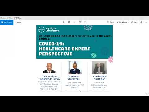 COVID-19: Healthcare Expert Perspective