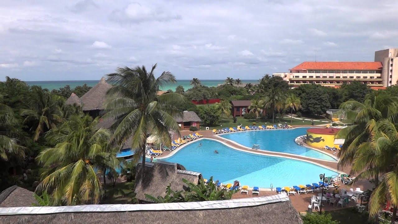 Hotel tuxpan varadero cuba pool arealobby front отель tuxpan варадеро куба youtube