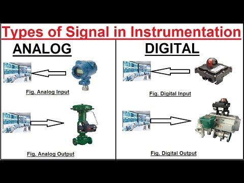 Types of Signals used in Instrumentation | Instrument Guru