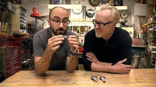 Adam Savage and Vsauce's Michael Stevens Geek Out Over Watches