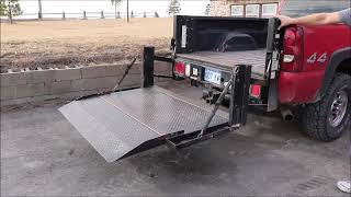 Tommy Gate Co. hydraulic lift end gate for sale   no-reserve Internet auction February 7, 2018