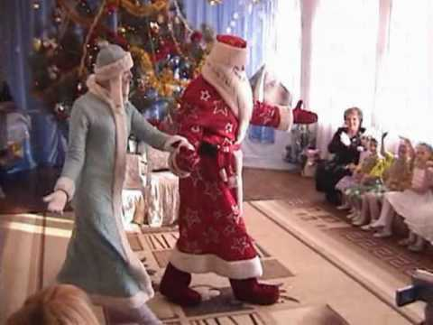 Дед мороз из пластики на елку