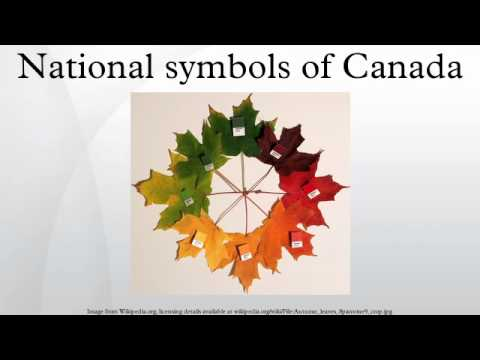 National symbols of Canada