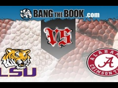 2015-11-07 No. 2 LSU at No. 4 Alabama No Huddle