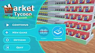 Market Tycoon Gameplay PC Game.