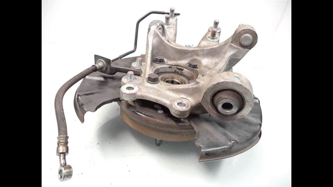 2011 Honda PILOT Rear axle stub RR/L SPINDLE KNUCKLE ...