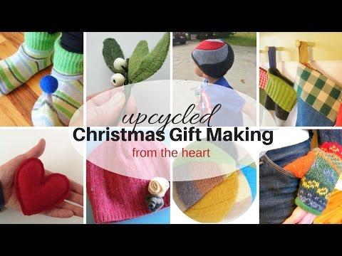 Upcycled Christmas Gift Making