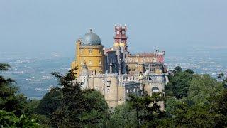 Дворец Пена, Синтра, Португалия! Самый красивый в Европе(, 2015-04-10T17:41:43.000Z)