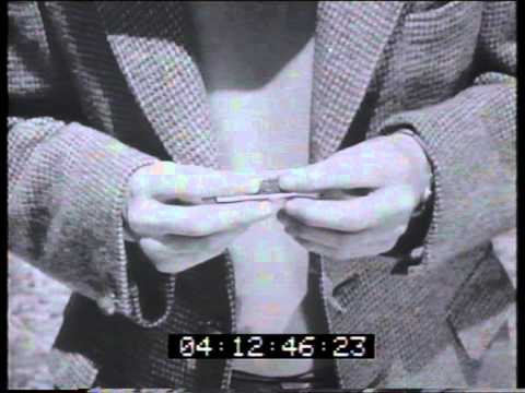 Wills tobacco 'roll your own' 1961 TV commercial