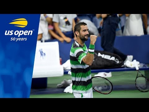 No. 7 Seed Marin Cilic Shines During Night Session at 2018 US Open