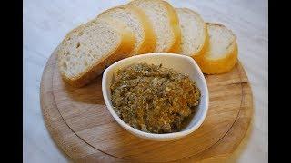Грибная икра из шампиньонов - простая и очень вкусная закуска!