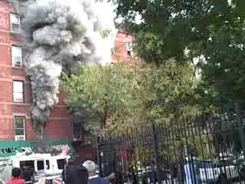New York City Fire in Hell's Kitchen