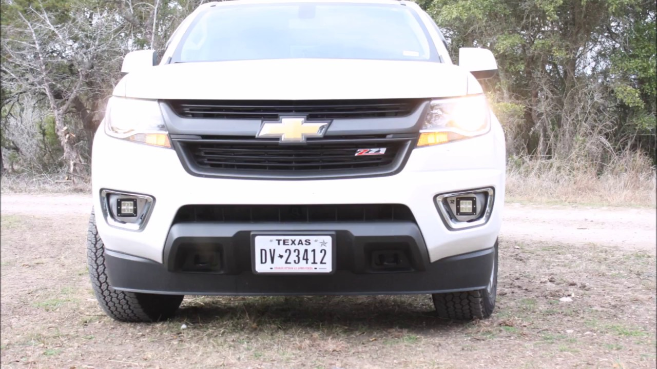 2nd Gen Chevy Colorado Fog Pod Replacements Install Instructions