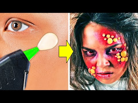 25 TV AND MOVIE MAKEUP FOR YOUR SFX LOOK