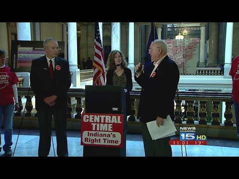 Group fights for Central Time for all of Indiana