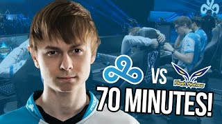 70 MINUTE GAME! - C9 VS FW LOL WORLDS HIGHLIGHTS!