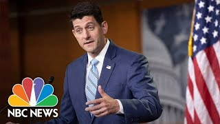 House Speaker Paul Ryan And GOP Leaders Hold press Conference | NBC News